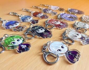 Fire Emblem Heroes【 Clear Acrylic Keychain 】