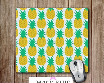 Pineapple Mouse Pad, Office Accessories, Desk Accessories, Teacher Gifts, Gift for Him, Gift for Teacher