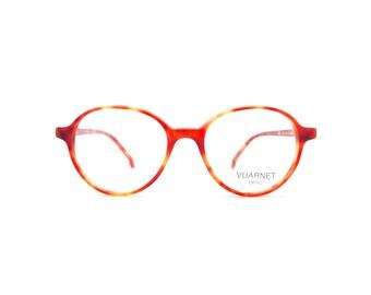 Genuine 1980s Vuarnet Pouilloux 107 03M Vintage Acetate Eyeglasses // Hand Made in France // New Old Stock