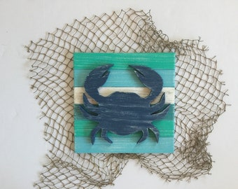 Crab Beach Wall Art