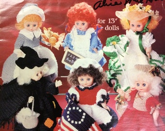 A Doll A Month  Crochet Collection Volume Two July - December American School of Needlework