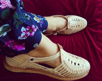 Huaraches Sandals - Woman Leather Shoes - Mexican Huaraches - For Her