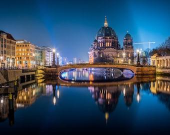 Berlin Bridge, Germany - Digital fine art photography print