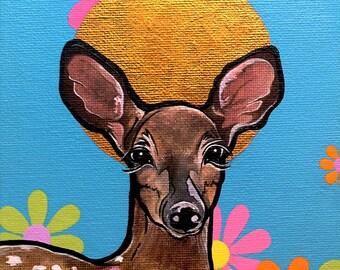 Deer Print, Dear Head, Fawn Baby Deer, Forest Animal, Kids Wall Nursery Art, Woodlands Decor, Deer Gift, Best Selling Art, Trending Now, Top