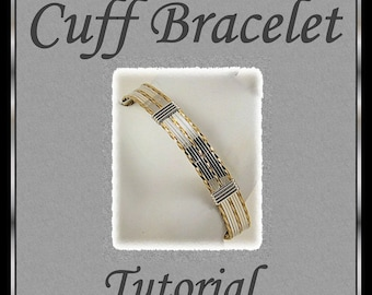 Wire Wrapped Cuff Bracelet Tutorial