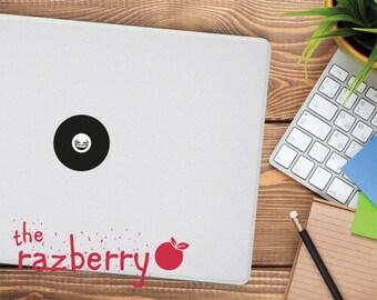 Laughter Emoji Macbook Decal Emoticon Macbook Laughing Hard Cry Decal Whatsapp Emoji Macbook Decal iPhone Macbook Decal Vinyl Emoticon Emoji