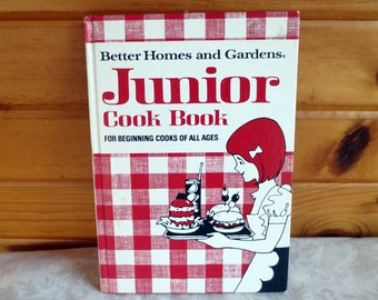 1972 Junior Cook Book, Better Homes and Gardens Vintage Cookbook