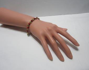 Handmade Red Coral Bracelet