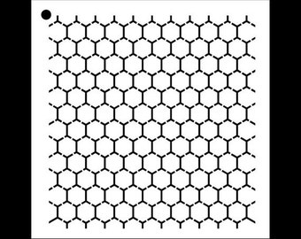 Reverse Honeycomb - Select Size - STCL1027 - by StudioR12