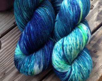 Northern Lights on Avaze Sa MCN sock weight