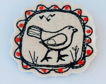 embroidery Handmade Brosh lapel pin