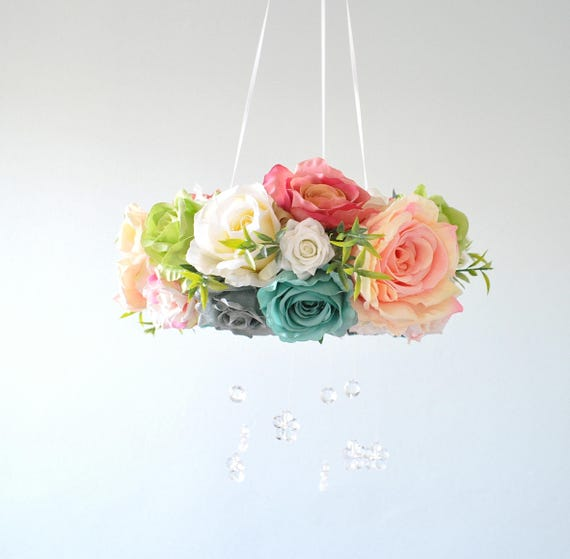 Flower mobile floral mobile floral like this item negle Gallery