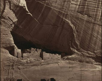 Poster, Many Sizes Available; Anasazi Ruins, Called The White House In Present Day Arizona 1873