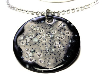 Sagittarius Constellation Sparkle Surly Necklace with Swarovski Crystals