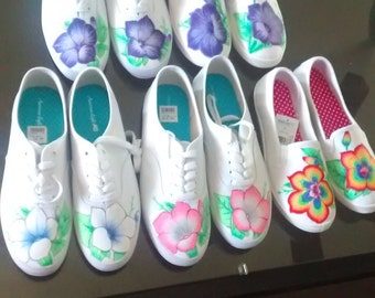 Personalized canvas shoes