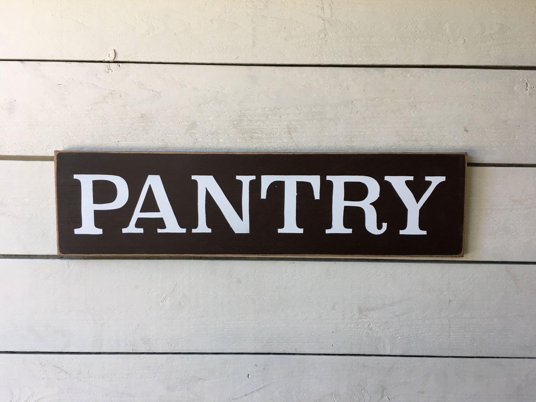 Primitive Pantry Sign