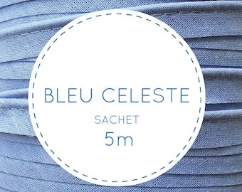 5 m piping - 11 Celeste blue pouch