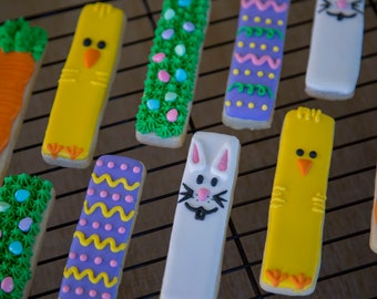 Easter Cookie Sticks