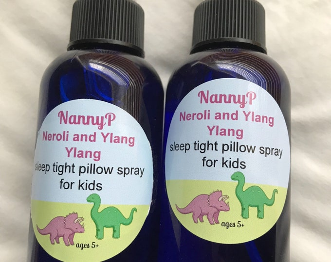 Kids Organic Sleep Spray - CERTIFIED AROMATHERAPIST