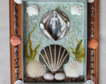 The Siren - Found Object Assemblage