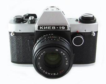 KIEV 19 Russian 35mm film Camera Nikon bayonet mount MC HELIOS-81N 2/50mm Lens
