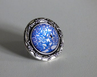 Ring 20 mm ref.02 enchanted tree collection
