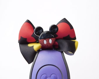 Mickey Mouse Bow for Walt Disney World Magic Bands