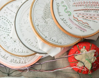 6 Month Stitch of the Month Embroidery Subscription