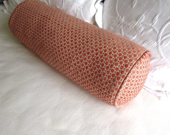 7x20 Coral Reef chenille decorative Bolster Pillow