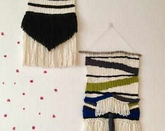 Handmade Woven Art | Wall Hanging | Fiber Art | Woven Textile | Home Decor
