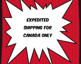 Expedited shipping for Canada