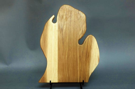 Little  Michigan Cutting Board. Lower Peninsula. Gift for Michigander, snowbirds or cooks.