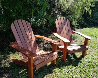 Hardwood Adirondack Chairs - custom made
