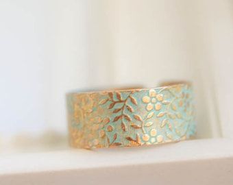 Brass Ring, verdigris Patina, gold, bronze, Jewelry, gift for Woman, brass ring, band ring, stackable ring, ring for woman, antique ring