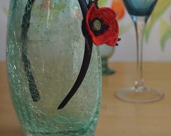 Beautiful Handmade Poppy Crown