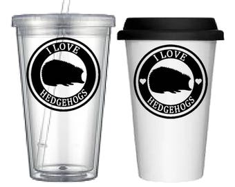 Cup:Hedgehog(4 designs to choose from!)
