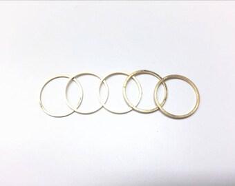 5 piece gold midi rings, 5 pcs stackable rings, 5 pcs knuckle rings, 5 pcs cute midi rings, 5 pcs gold plated rings
