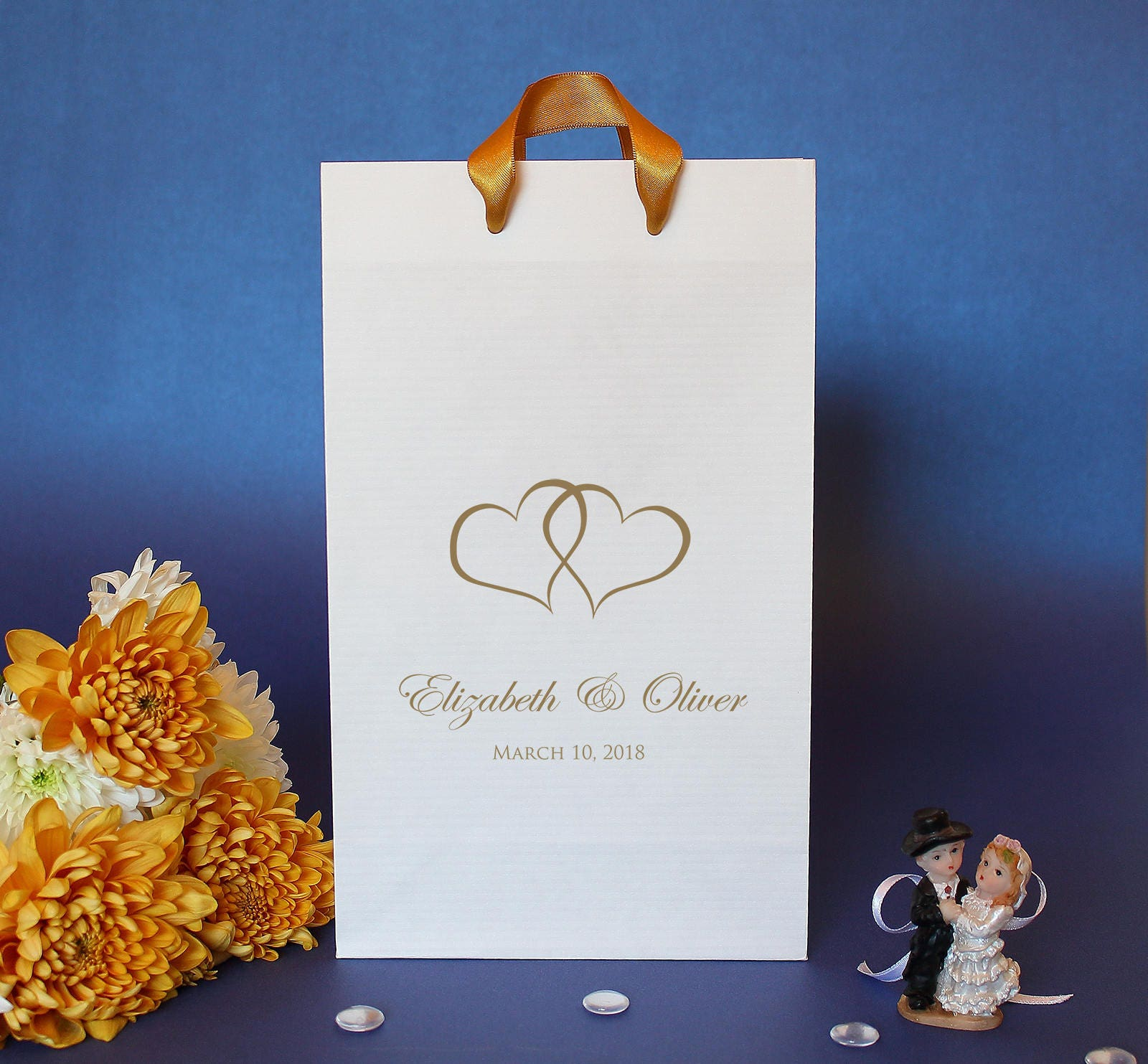 100 Wedding Welcome Bags For Wedding Guests Custom Printed