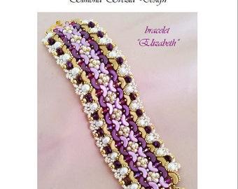 "TUTORIAL ""Elizabeth"" bracelet"