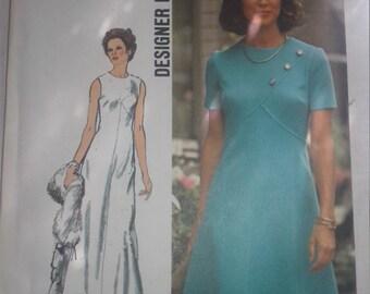 Vintage 70s Simplicity Dress Pattern 5911 Size 14 FF Uncut