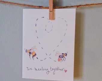 Beelong Together Valentines Day Card