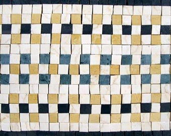 Stone Art Mosaic Border
