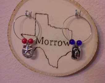 State charm holder