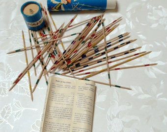 Mikado,  Mid Century European 'Pick Up Sticks' game