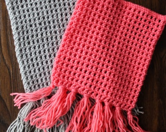 Toddler Cowl with Fringe