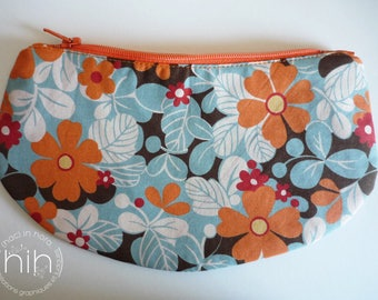 "small pouch LuNa / ""the flowering..."" / clutch for small or large! /I022c"