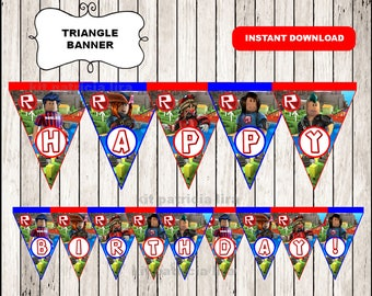 Roblox banner instant download , Roblox triangle banner, Roblox Party banner