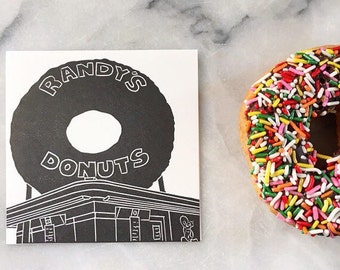 Randy's Donuts, Single Card