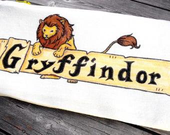Gryffindor pencil case Gryffindor gifts Potterhead Gryffindor birthday Hogwarts house gifts Pottermore Harry Potter School supplies student