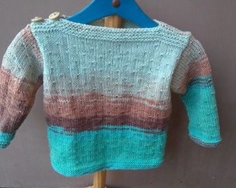 Boys 2 years cotton and acrylic sweater
